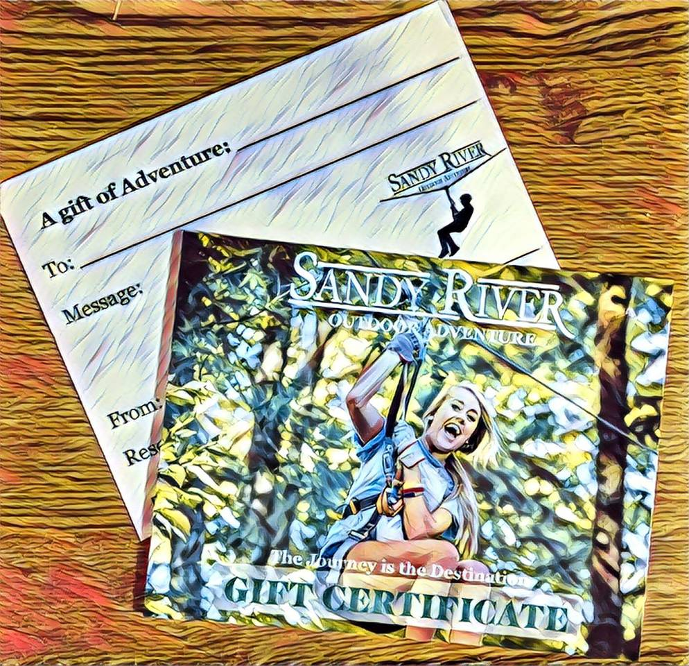 Gift Certificates & Season Passes
